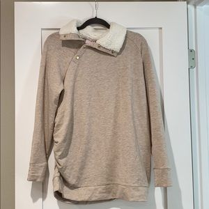 Maternity sweater - super soft and cozy